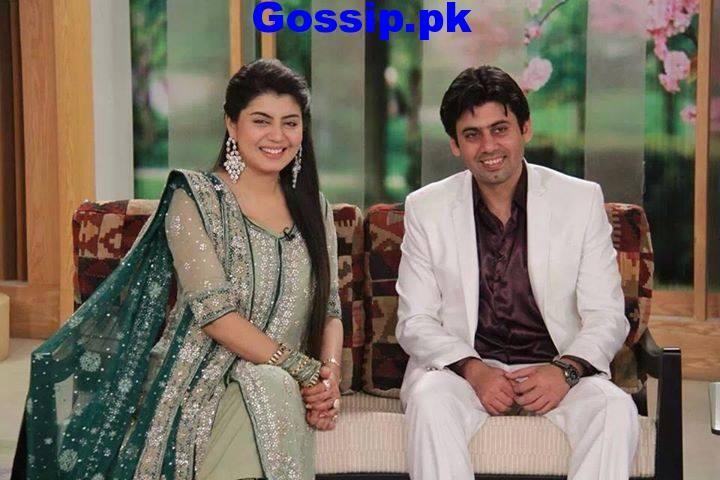 host abeel with husband pakistani celebrite couple