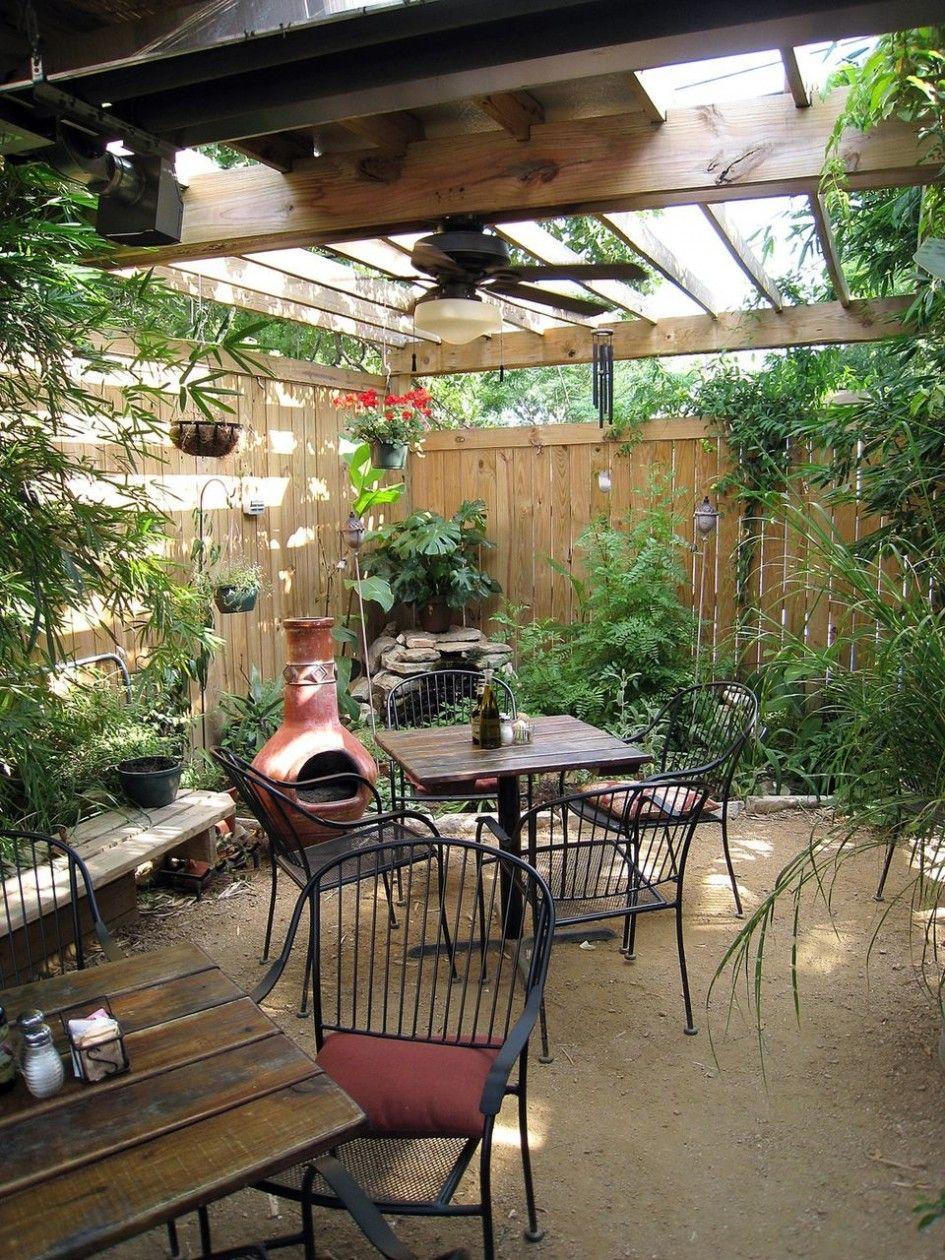 Backyard Patio Ideas : Patio Shade Dazzling Large Patio Plants For .