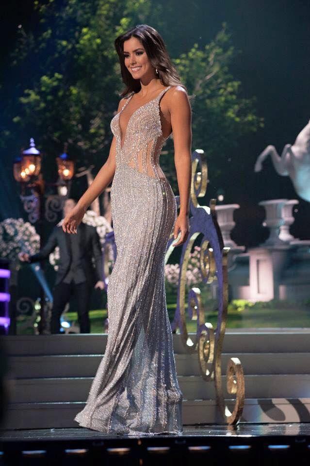 Miss Universo-Paulina Vega-Diseño Alfredo-Barraza- | Coleccionando ...