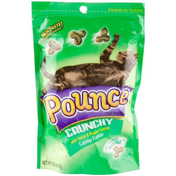 Pounce Tartar Plaque Control Cat Treats Crunchy Treats Petsmart Cat Treats Tartar Treats