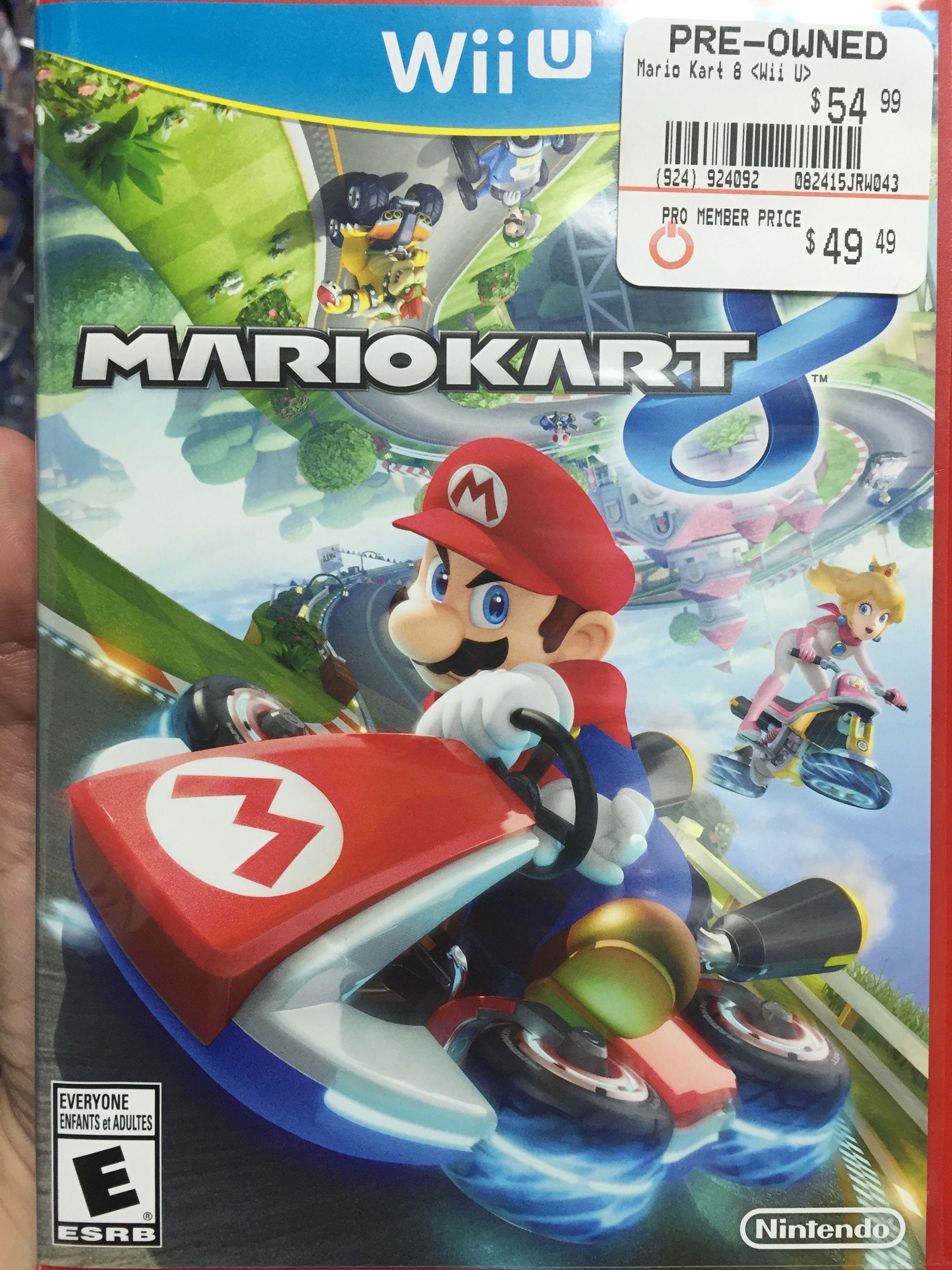 Mario Kart 8 Gamestop Wii U Games Mario Kart Mario Kart 8