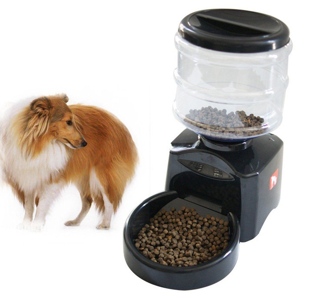by joyfay program your amazon dog voice feeder food pet programmable automatic dispenser