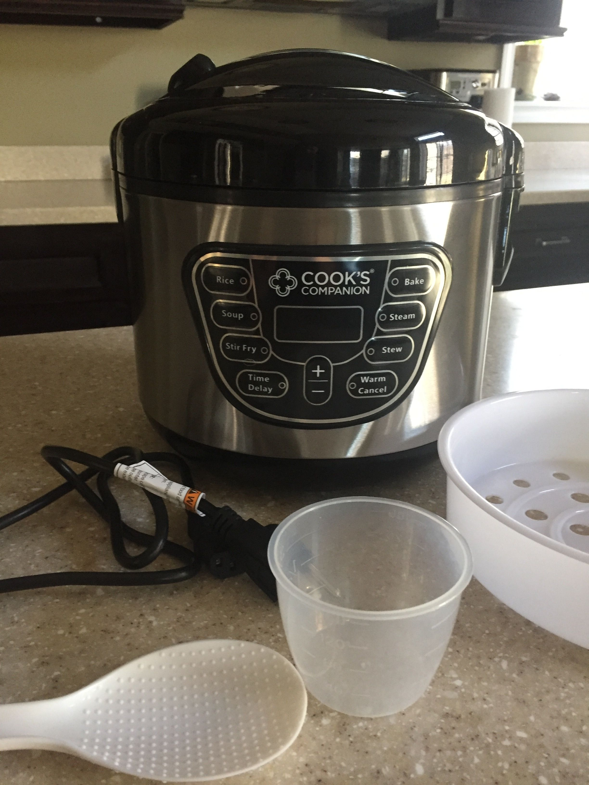 The Cook's Companion Digital Wonder Pot has been a wonderful time saver for our family.   Enter to win one for yourself!