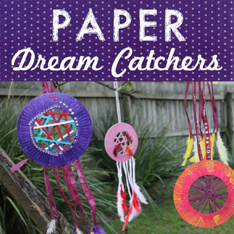 Thanksgiving Paper Plate Dream Catcher Use for Spirit Day - Thanksgiving Pilgrim and Native American  sc 1 st  Pinterest & Paper Dream Catchers | Dream catchers Catcher and Native american ...