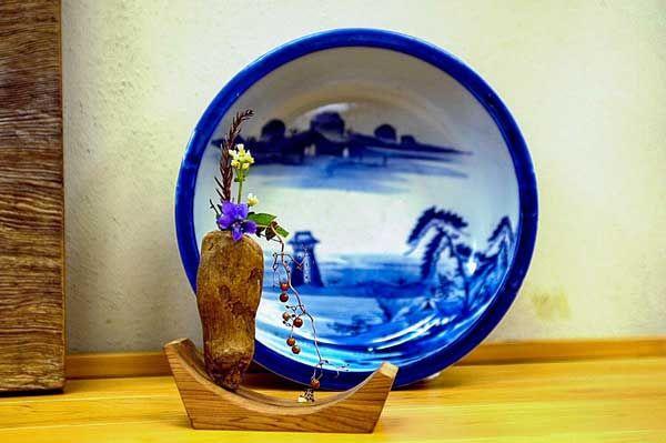 #流木の花器 2005-1  ★ #流木 #流木アート #屋久島 #driftwood art #インテリア #Driftwoodvases