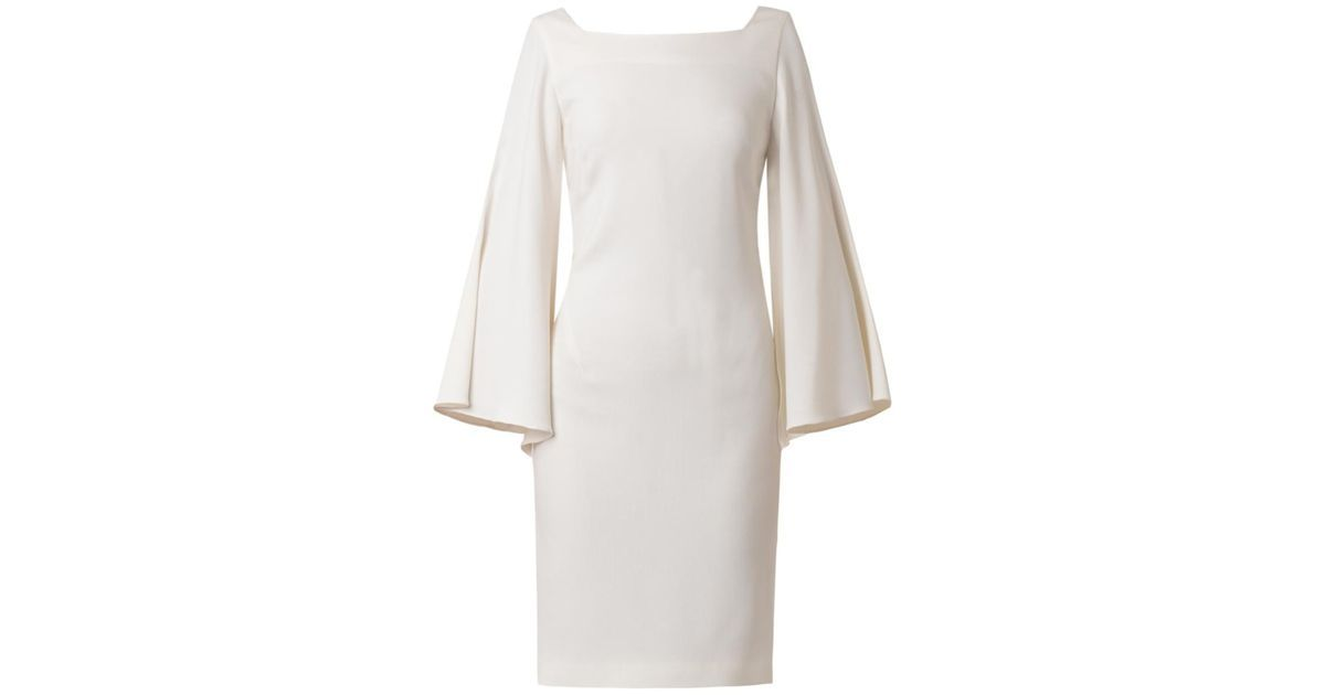 Buy OSMAN Women's White Split-Sleeve Crepe Dress, starting at $504. Similar products also available. SALE now on!