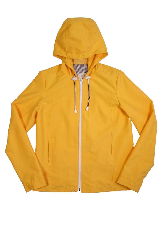 Betina Lou - CAMILLE . Yellow - Short rain jacket
