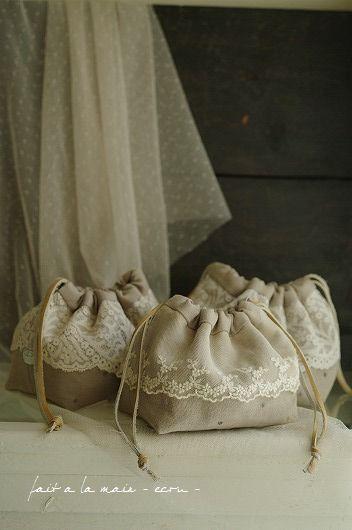 linen and lace | Potlis | Pinterest | Vintage deko, Nähanleitung und ...