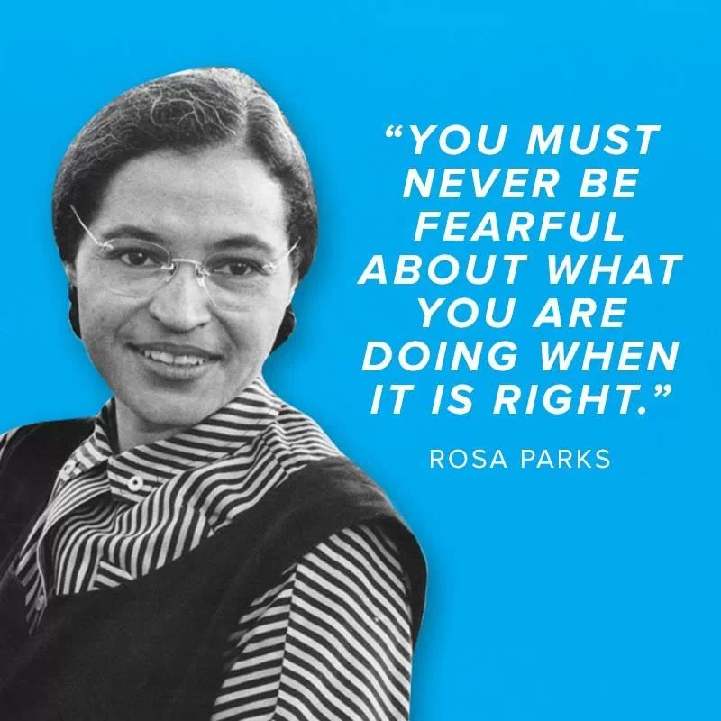 Most Famous Quotes In History: Quotes On Rosa Parks Bus. QuotesGram