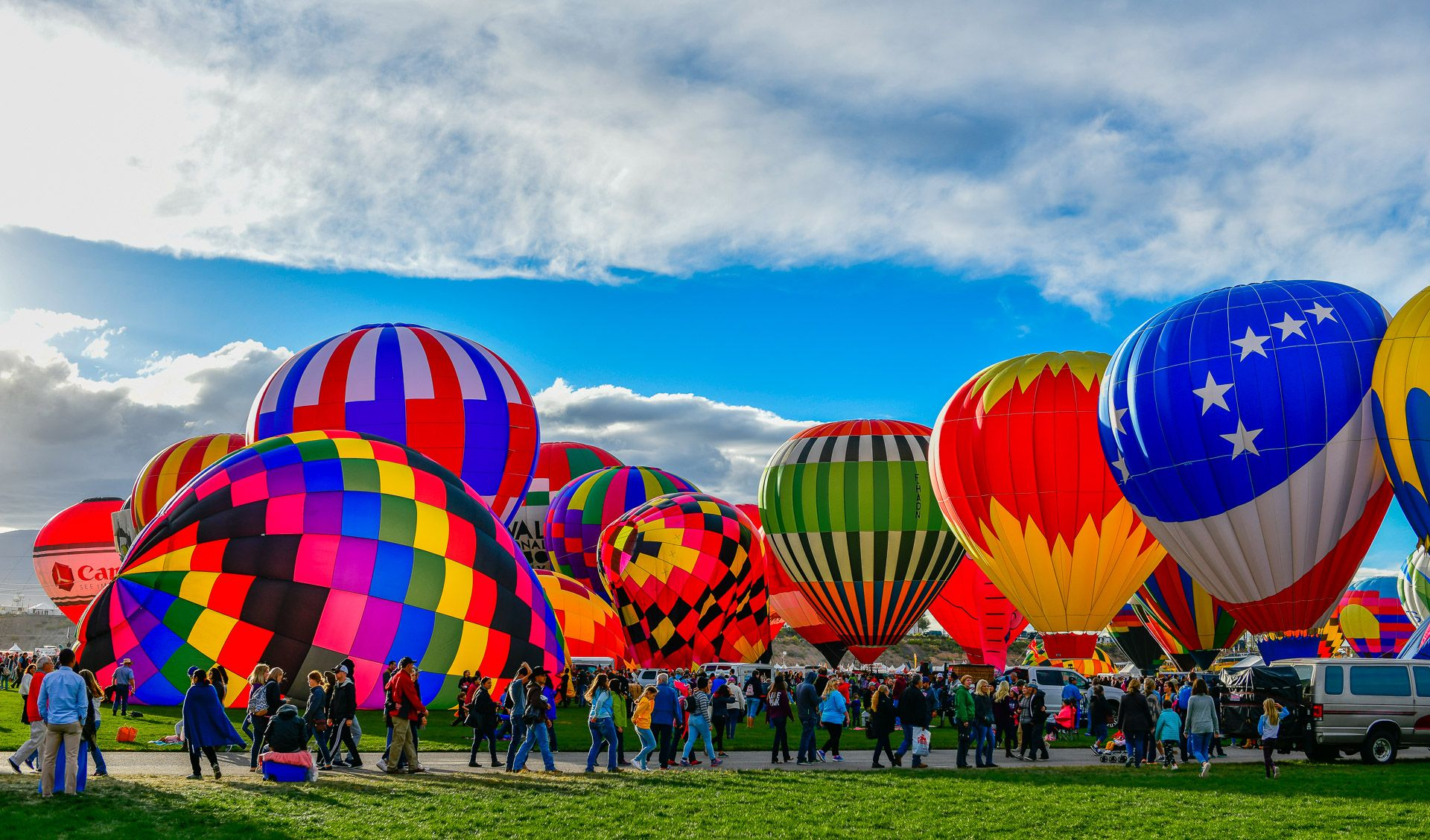 Albuquerque International Hot Air Balloon Fiesta 2018