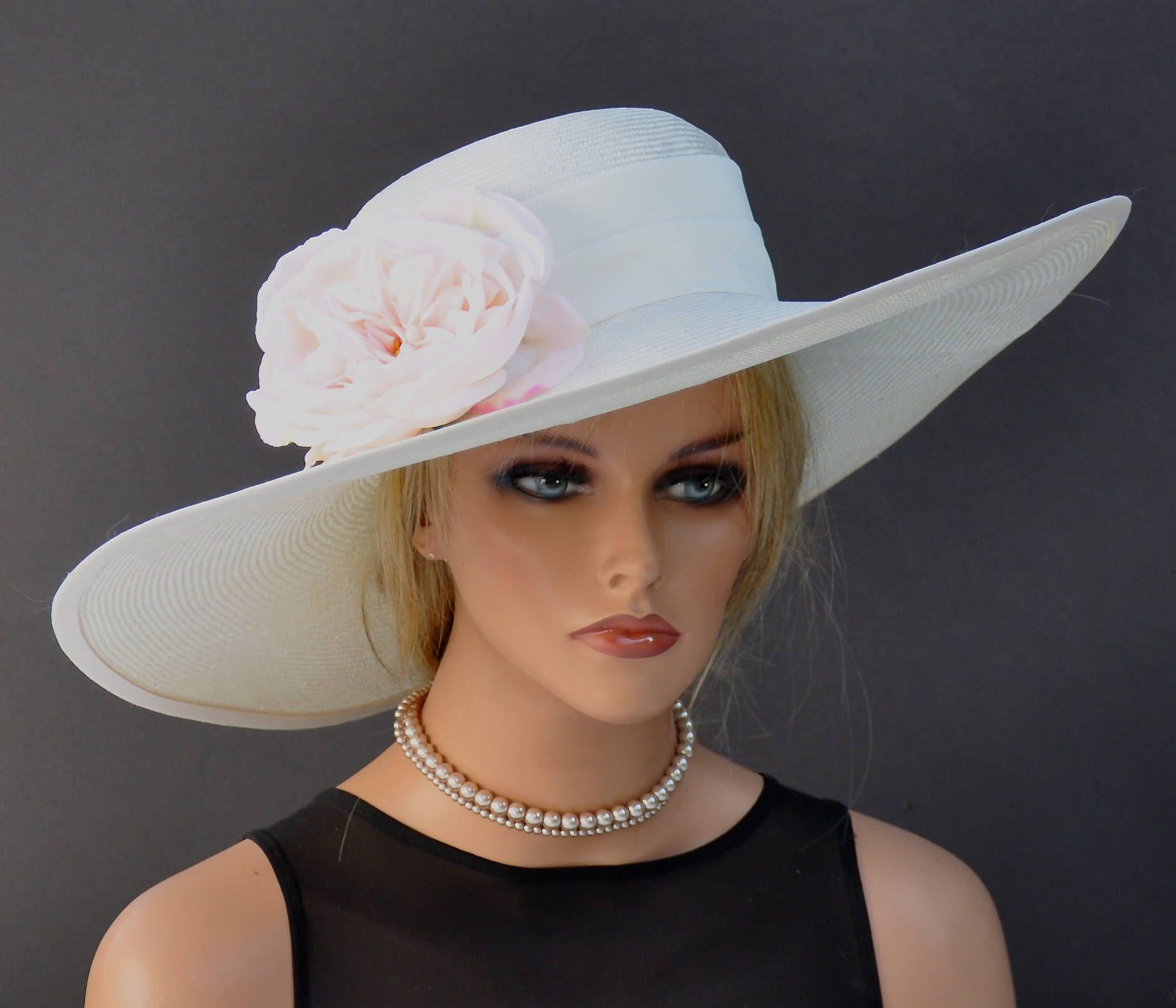 a2131a1e7de Wide Brim Derby Hat