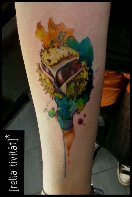 Kastanie Herbst Tattoo Tattoo Ideen Pinterest Tattoos