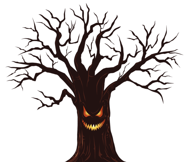 Halloween Spooky Tree PNG Clipart Image Gifs, Fotos