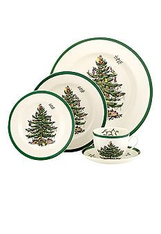 Spode Christmas pattern....collecting enough so each of my kids can have a start of 4 placesettings when they start their families.