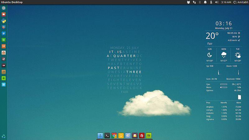 Clear Skies Desktop