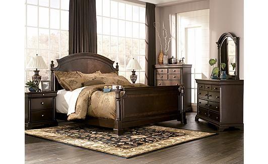 Gorgeous Bedroom Set Leighton Poster By Ashley Furniture