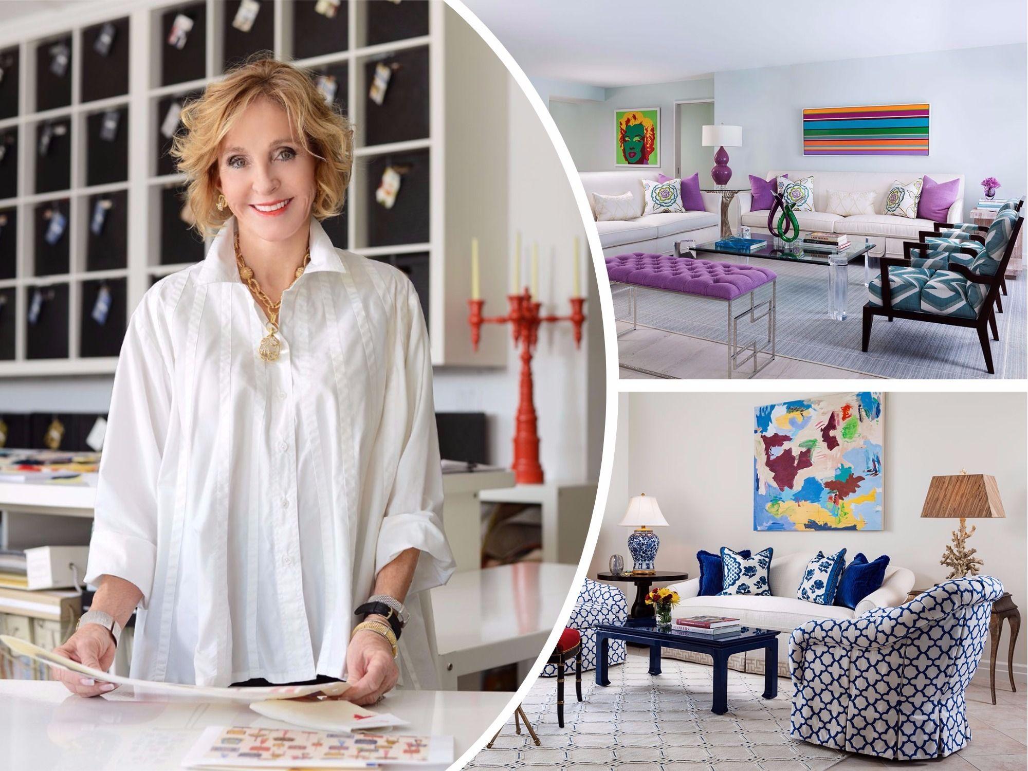 A floridabased interior designer loves the challenge of decorating