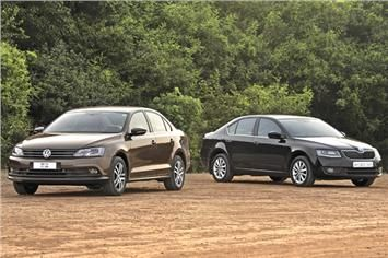 2015 Volkswagen Jetta Vs Skoda Octavia Diesel Comparison Skoda Octavia Skoda Volkswagen Jetta