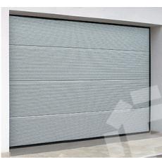 Porte De Garage Sectionnelle Microlignée Gefradis Fabrication Sur - Porte garage sectionnelle sur mesure