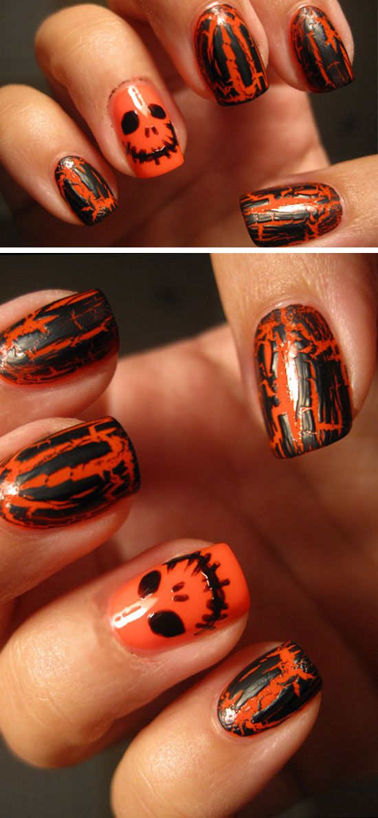 20 + Spooky Nail Art Ideas for Halloween | Halloween diy and DIY ...