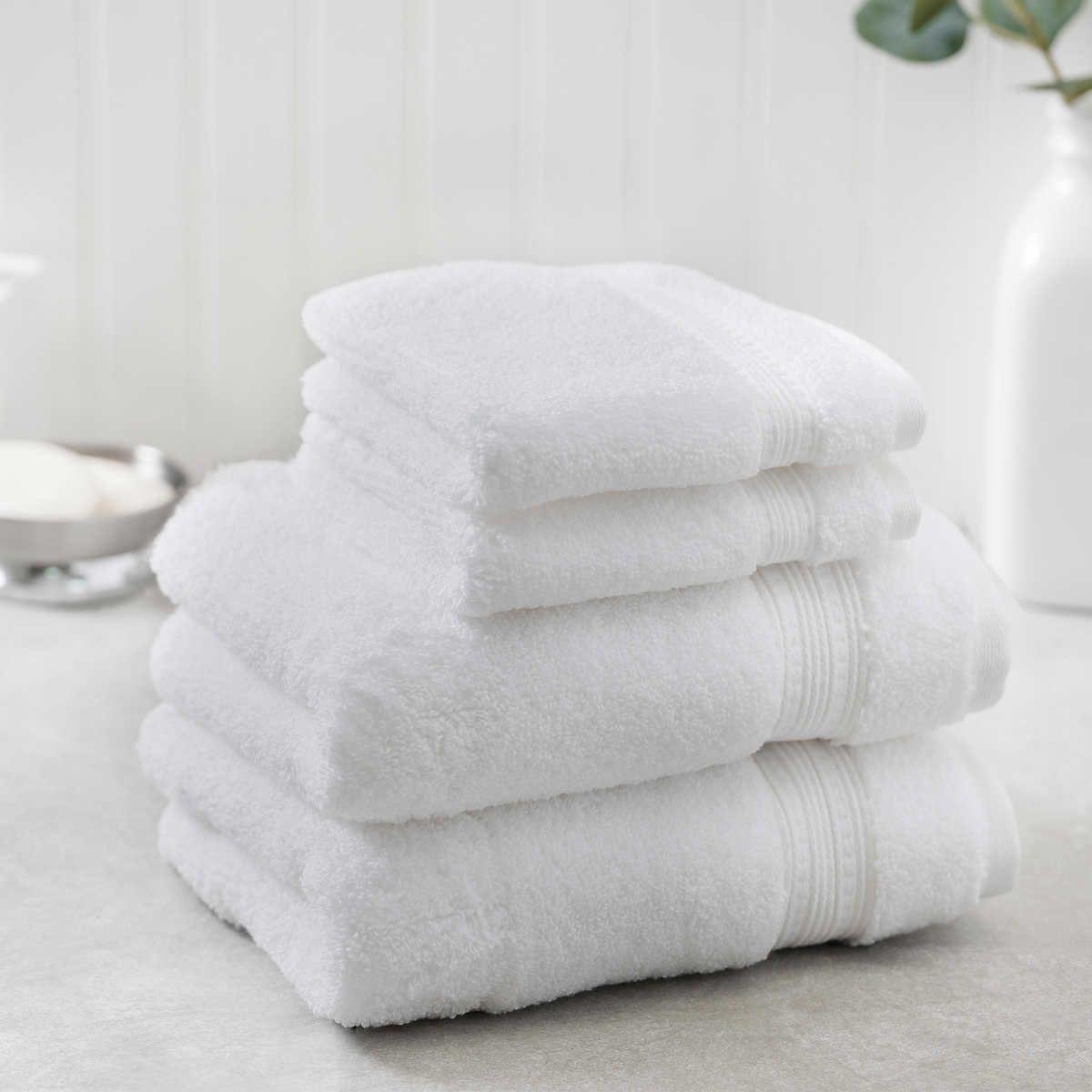 Charisma 100 Hygrocotton 4 Piece Hand And Washcloth Towel Set