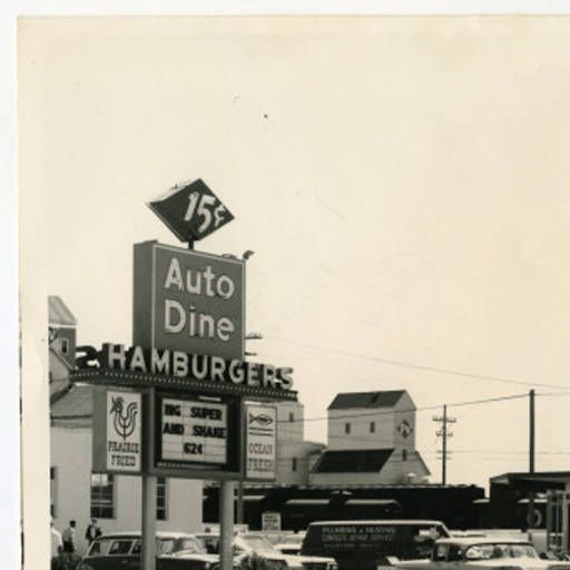 Auto Dine Hamburgers, Bismarck, N.D. :: State Historical Society of North Dakota (SHSND)
