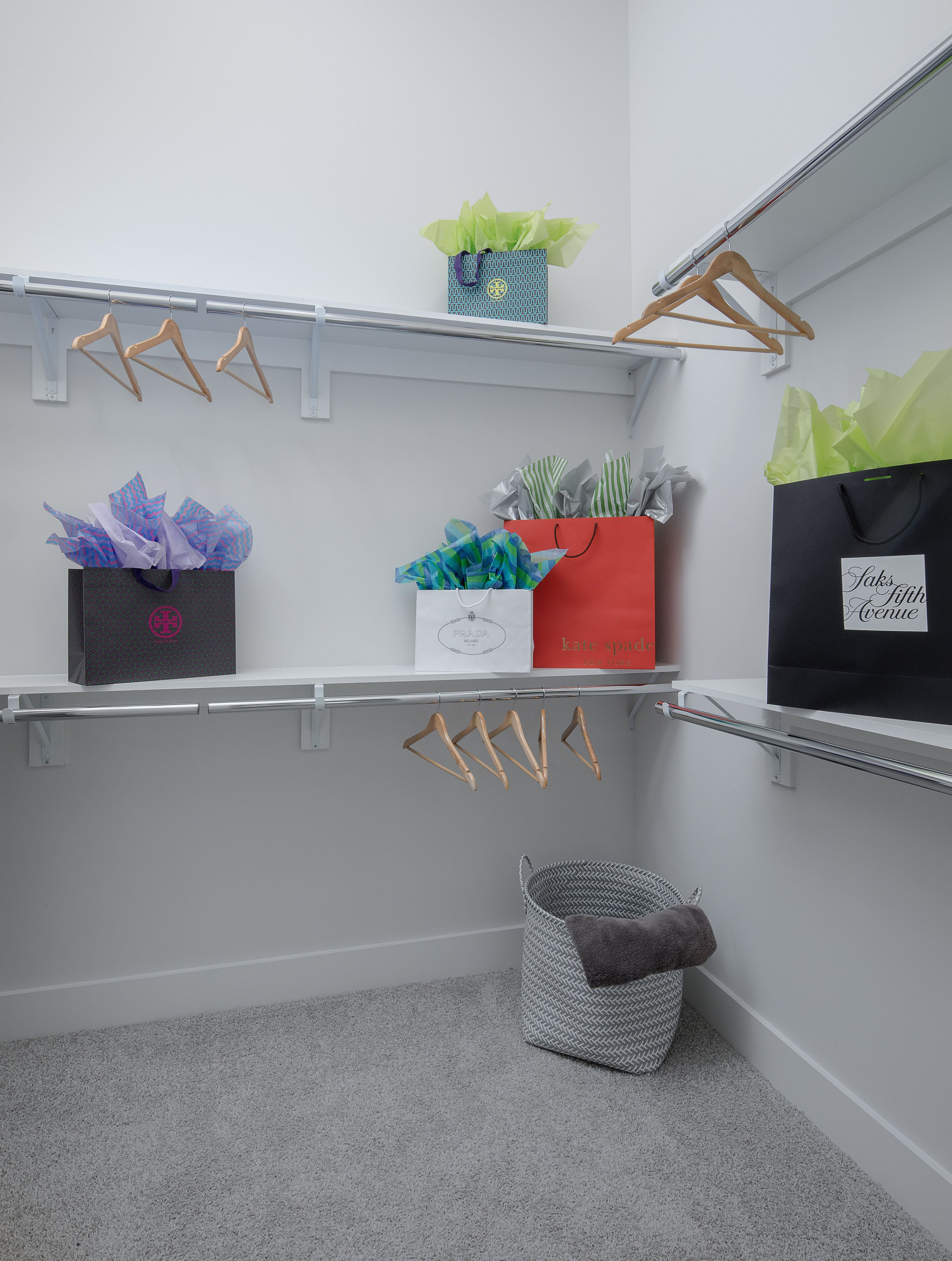Closet space comes at a premium at AMLI Buckhead