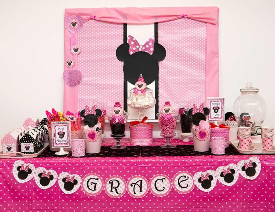 Minnie Mouse Birthday Graces 2nd Party