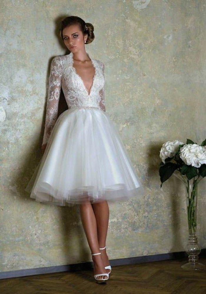 Vestidos de novia cortos precios
