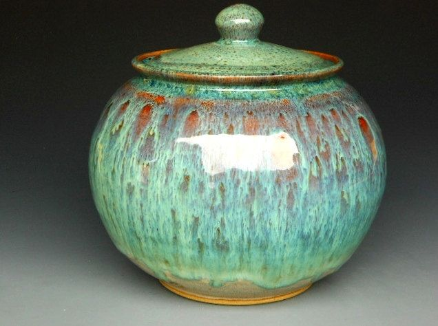 Ceramic Lidded Jar A Pottery Jars Ceramic Jars Pottery