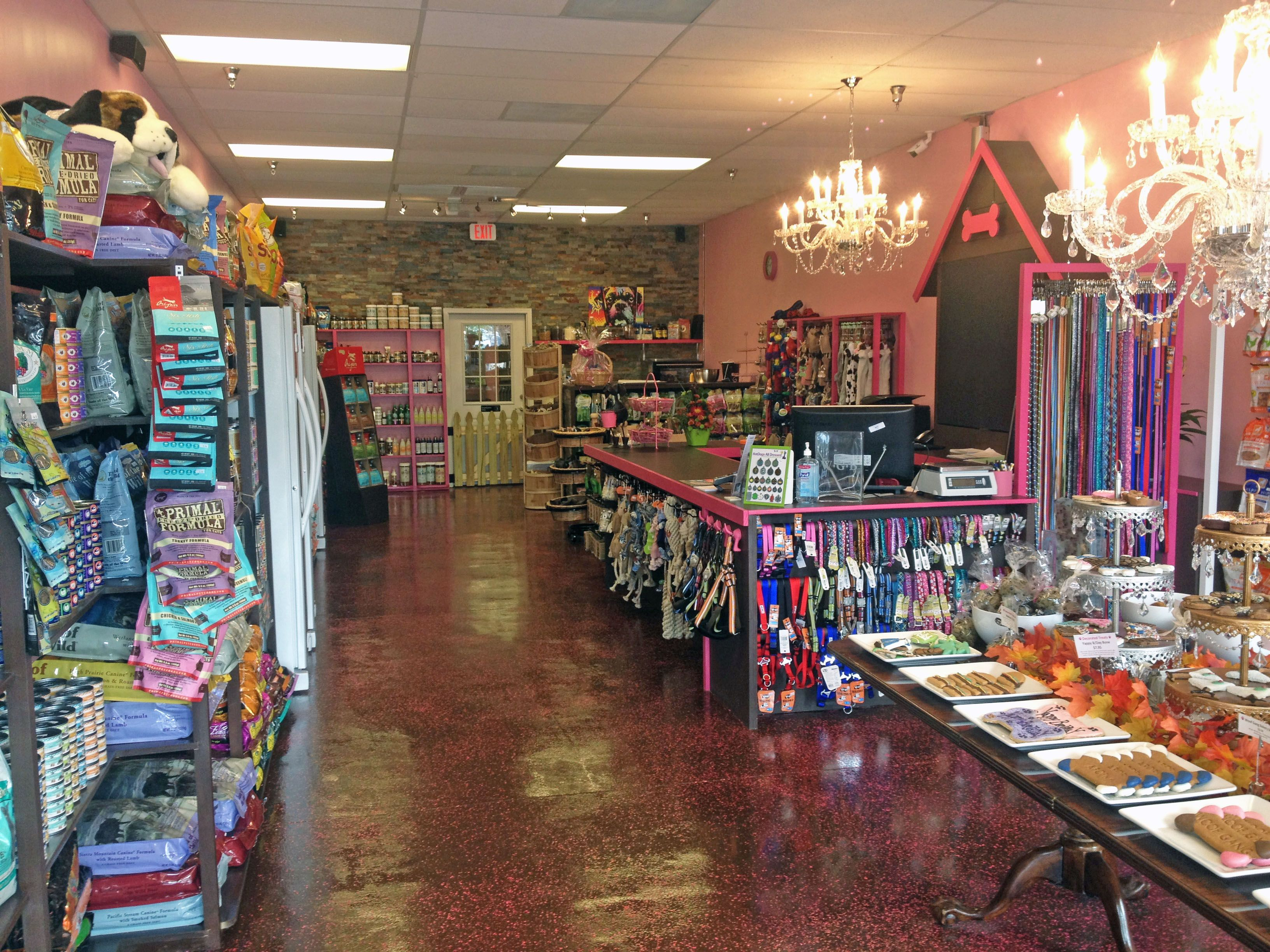 Food, treats, chews, toys, grooming, pet products and more
