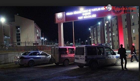Suşehri'nde yurtta öğrenci kavgası: 14 gözaltı