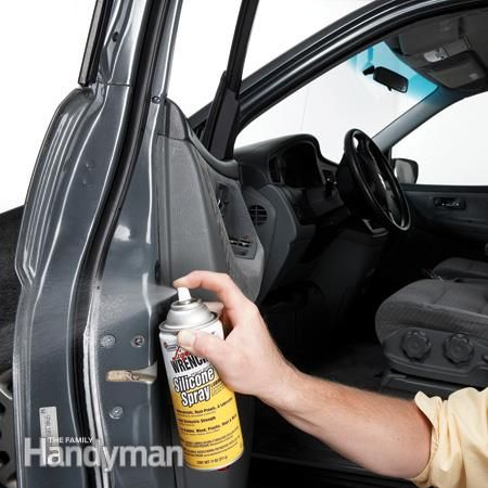Winter Prep Where To Grease A Car Door Hinges Cold