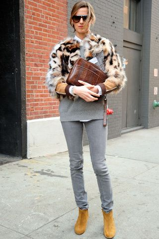 Nothing like a chic fur.