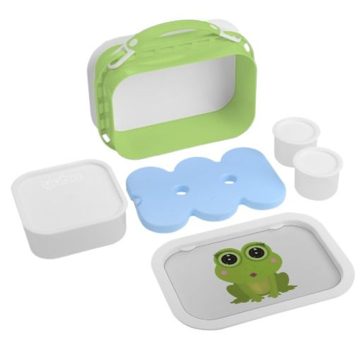 Female Frog Yubo Lunch Boxes