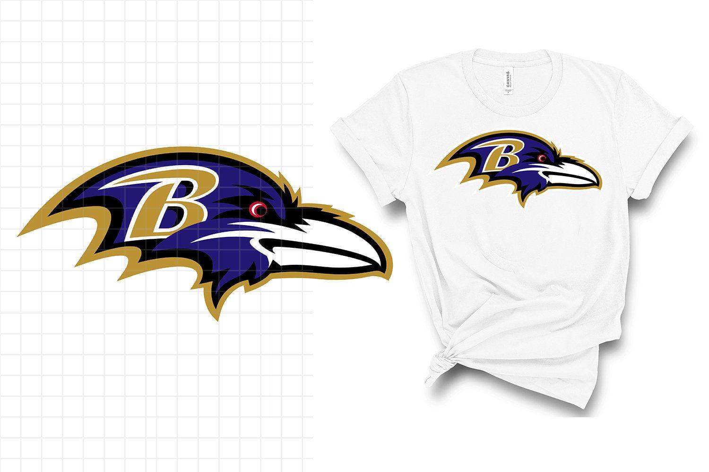 Baltimore ravens logo svg, dxf, clipart, vector, print