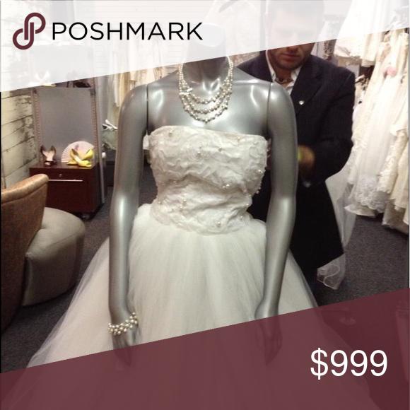 Alena Fede Designer Wedding Dress 4 White Boutique Wedding Dresses Designer Wedding Dresses Dresses