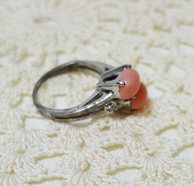 Coral Egg Ring