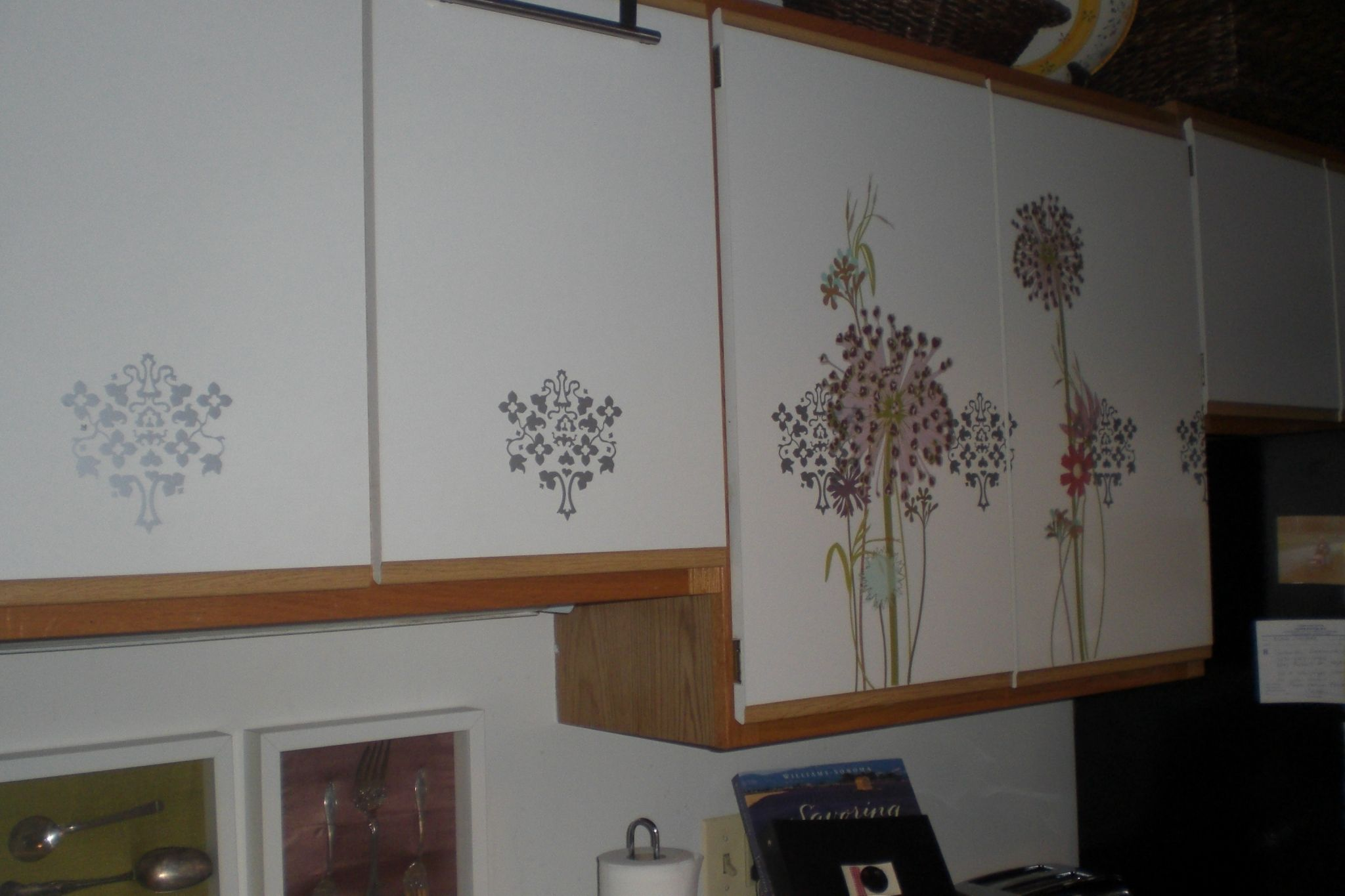 kitchen cabinet decals corner nook table pin by neby on makeover and new design remodel ideas for small kitchens check more at http