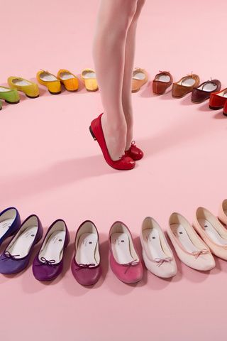 Repetto - need 1 pair of each colour!