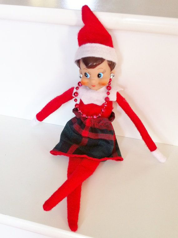 Express Your Elf Handmade Elf On The Shelf Clothing Skirt
