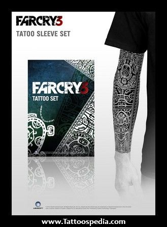 Far Cry 3 Tattoo Sleeve Tattoospedia Ideias De Tatuagens