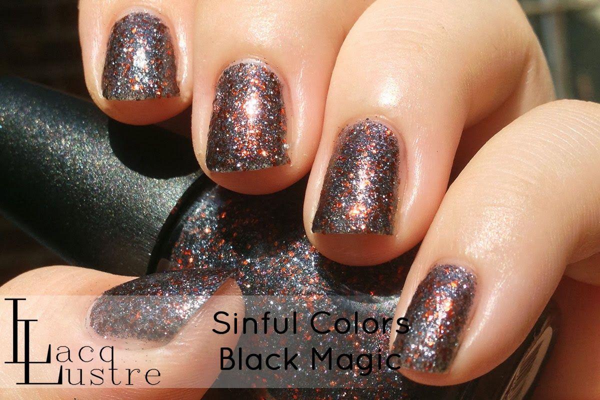 Sinful Colors Black Magic Make Up Sinful Colors Color Black