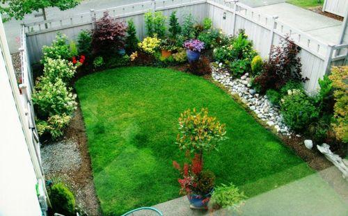 Como dise ar un jardin peque o casa dise o for Como arreglar un jardin pequeno