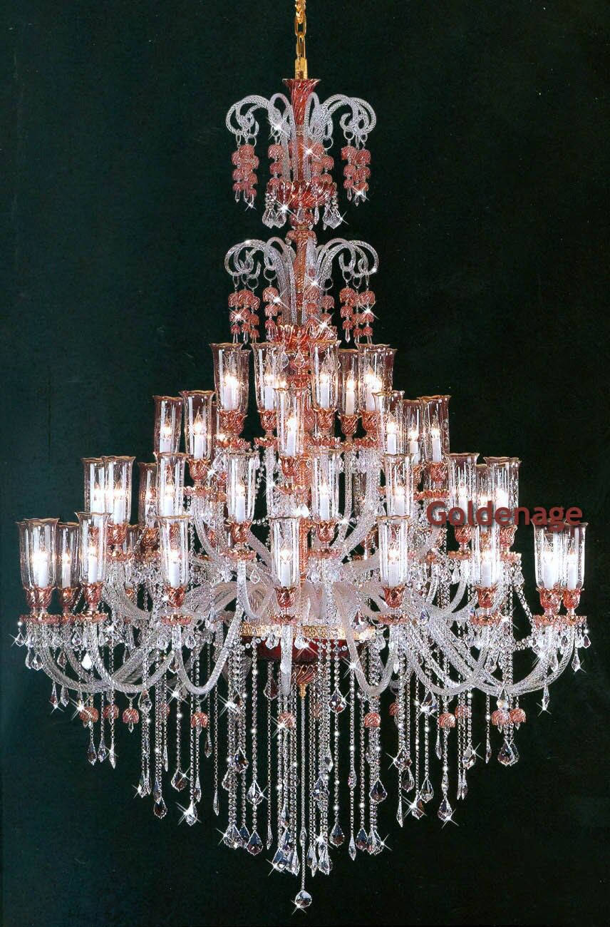 Lamparas De Cristal De Bohemia Chandeliers Dee Creation