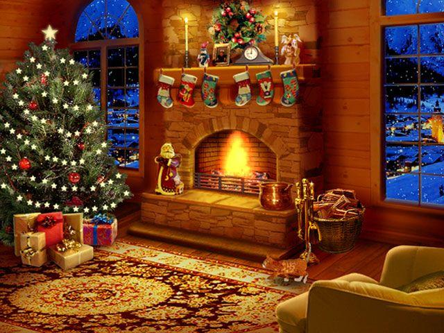 Free Christmas Screensavers And Wallpaper - WallpaperSafari | A ...