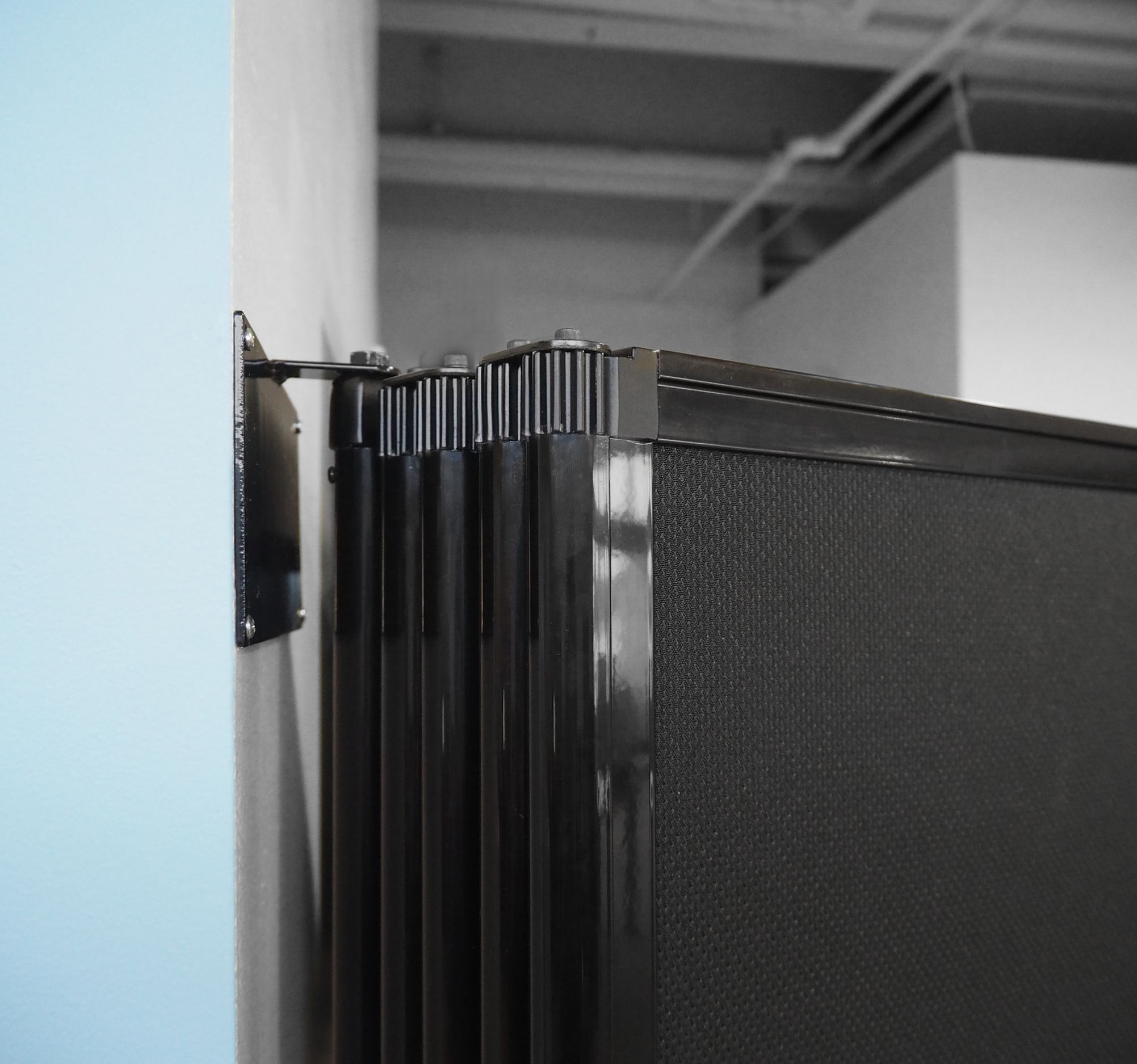 Room Divider 360 Wall Mounted Accordion Partition Partition