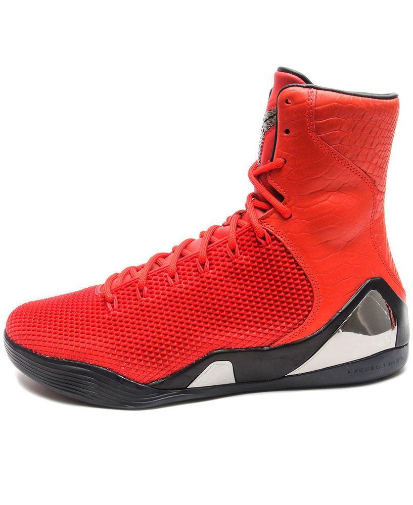 Kobe bryant · Nike Kobe IX 9 High KRM EXT QS Challenge Red 716993-600 ...