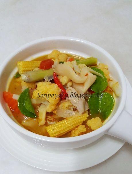 My Kuali Tom Yam Ayam Resep Masakan Makanan Masakan