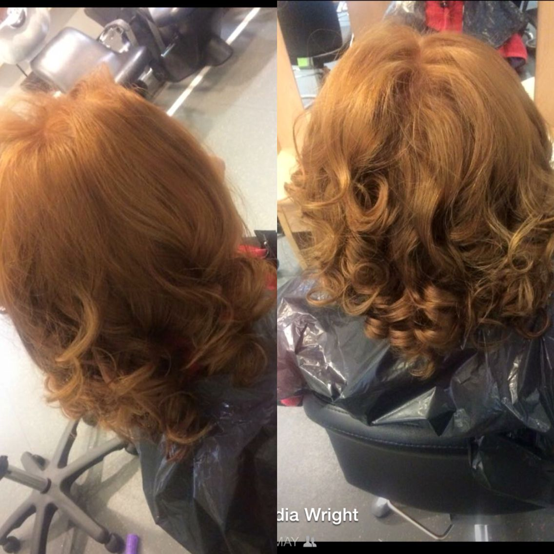 Curly blowdry